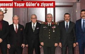 Ankara Bayburt Derneğinden Orgeneral Yaşar Güler'e Ziyaret