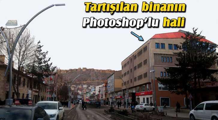 Bayburt'ta Cumhuriyet Caddesinin En Çok Tartışılan Binası