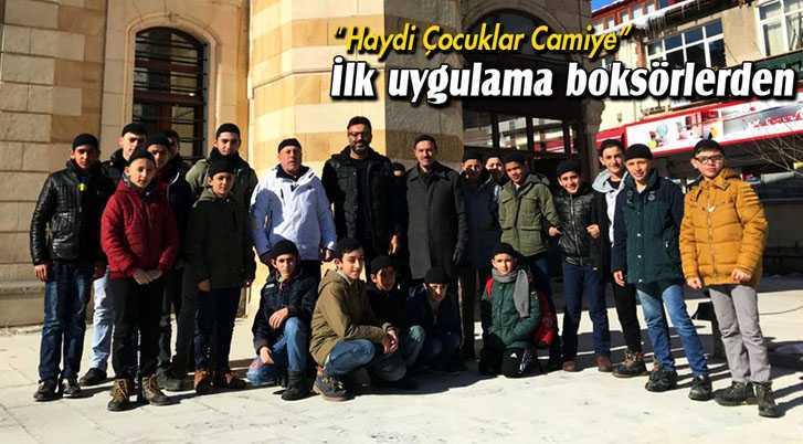 """Bayburt'ta """"Haydi Çocuklar Camiye"""" Projesinin İlk Uygulaması"""