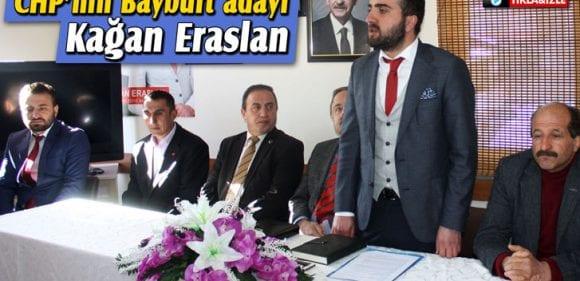 CHP'nin Bayburt Belediye Başkan Adayı Kağan Eraslan Oldu