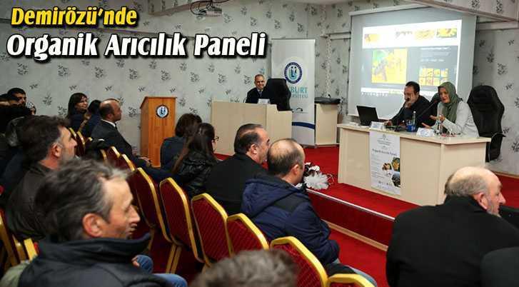Demirözü'nde Organik Arıcılık Paneli Düzenlendi