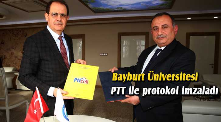 Bayburt Üniversitesi PTT İle Protokol İmzaladı