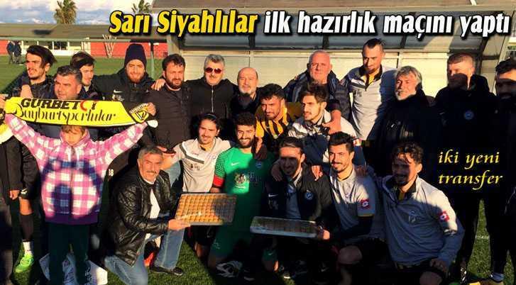Sarı Siyahlılar Antalya Kampında İlk Hazırlık Maçını Yaptı