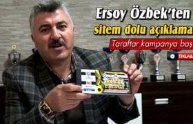 Bayburt Spor Başkanı Özbek'ten Sitem Dolu Açıklamalar