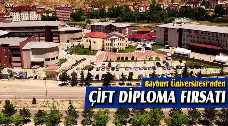 Bayburt Üniversitesi'nden Öğrencilerine Çift Diploma Fırsatı
