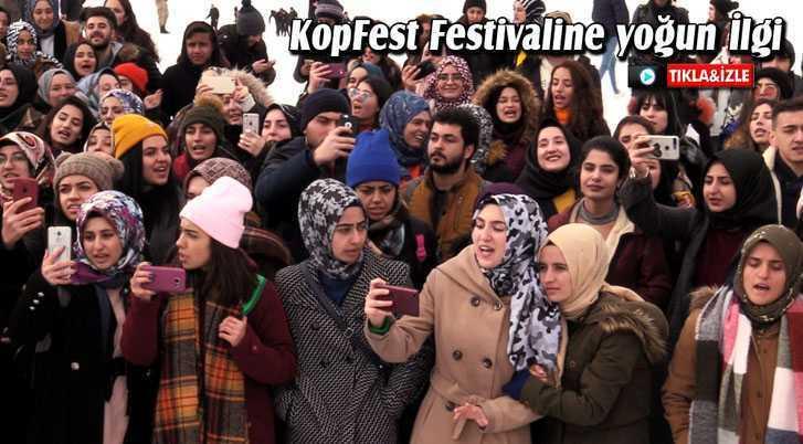 KopFest Festivaline Öğrencilerden Yoğun İlgi