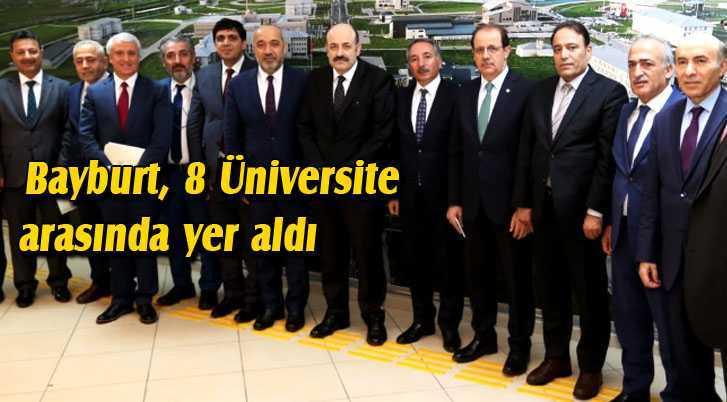 Bayburt Üniversitesi'ne Özel Misyon Görevi