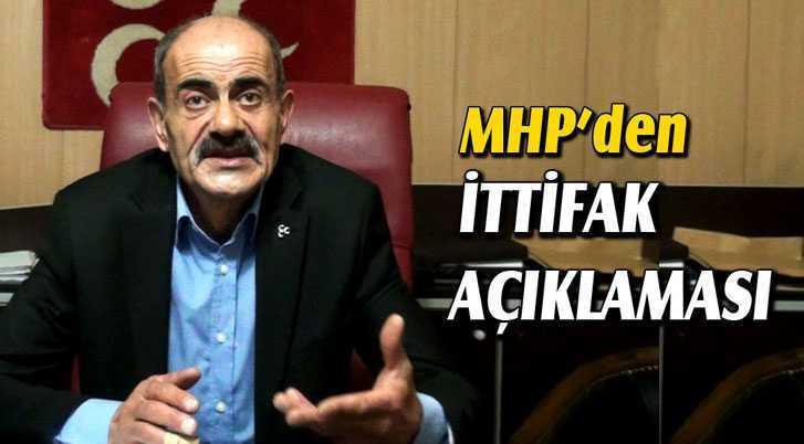 MHP Bayburt İl Başkanından İttifak Açıklaması