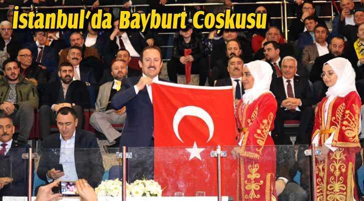 İstanbul'da Bayburtlular 101. Kurtuluş Gecesinde Buluştu
