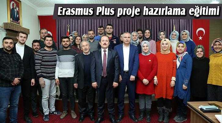 Öğretmenlere Erasmus Plus Proje Hazırlama Eğitimi