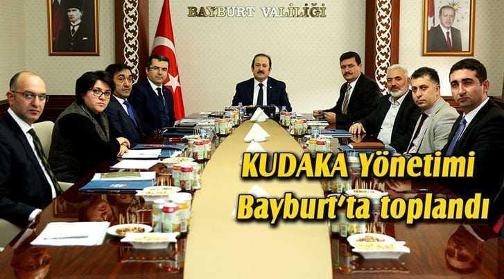 KUDAKA Yönetimi Bayburt'ta Toplandı