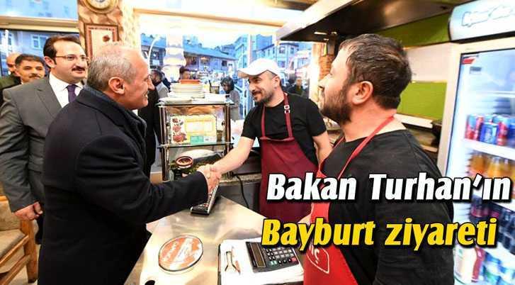 Bakan Turhan, Bayburt Ziyaretinde Önemli Açıklamalar Yaptı