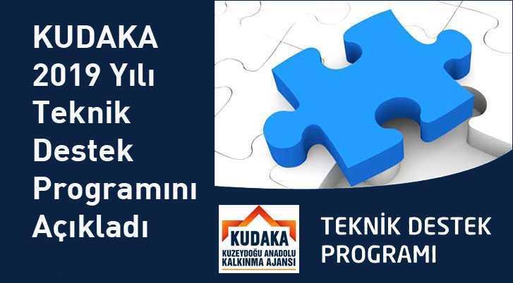 KUDAKA 2019 Yılı Teknik Destek Programını Açıkladı