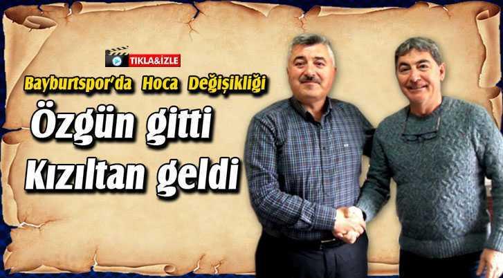 Bayburtspor'da Takımın Başına Özcan Kızıltan Getirildi