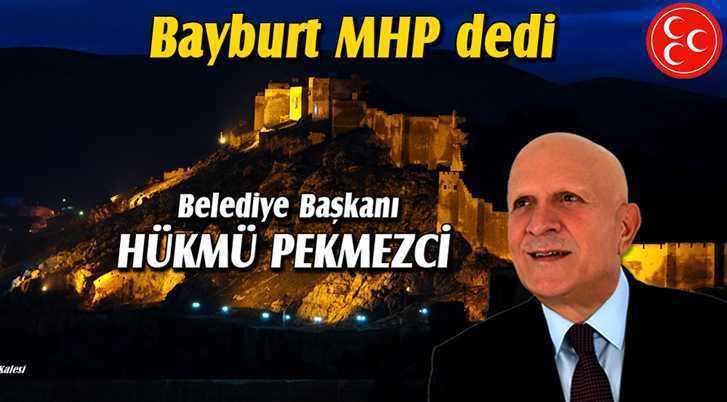 Bayburt'un Belediye Başkanı Hükmü Pekmezci Oldu