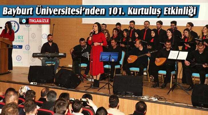 Bayburt Üniversitesi'nden 101. Kurtuluş Etkinliği