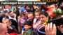 Trabzonspor Bayburt'ta Meşalelerle Karşılandı
