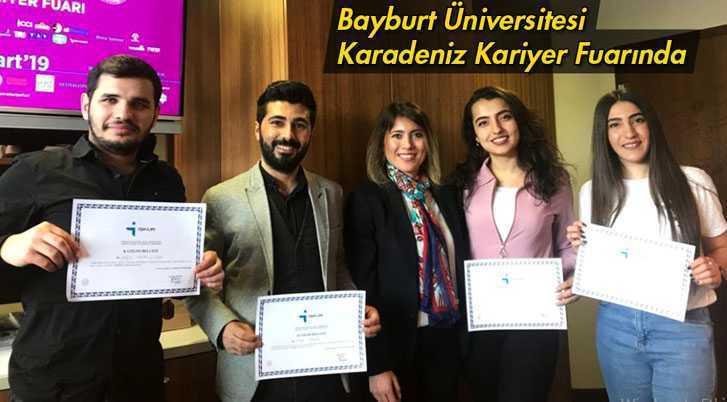 Bayburt Üniversitesi Karadeniz Kariyer Fuarına Katıldı