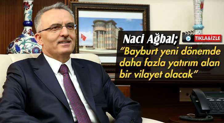 """Ağbal: """"Yeni Dönemde Fazla Yatırım Alan Bir Vilayet Olacağız"""""""