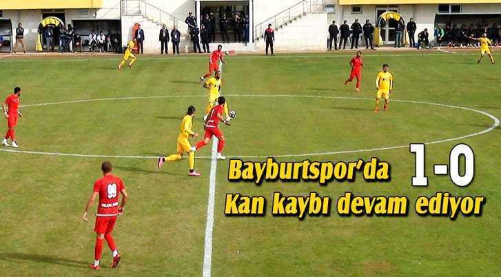Bayburtspor'da Kan Kaybı Devam Ediyor