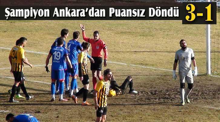 Bayburt Ankara Seyahatinden Puansız Döndü