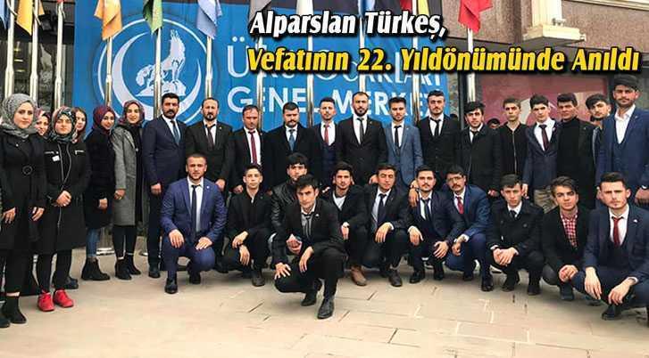 Alparslan Türkeş, Vefatının 22. Yıldönümünde Anıldı