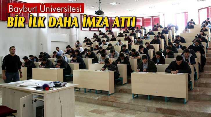 Bayburt Üniversitesi İlklere İmza Atmaya Devam Ediyor