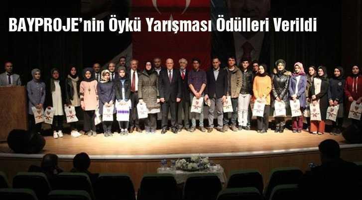 BAYPROJE'nin Öykü Yarışması Ödülleri Verildi