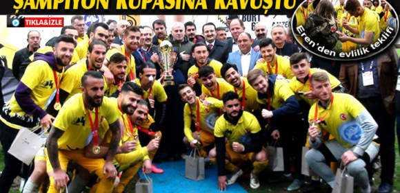 Şampiyon Bayburtspor Düzenlenen Törenle Kupasına Kavuştu