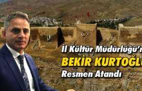 Kültür ve Turizm Müdürlüğü'ne Bekir Kurtoğlu Resmen Atandı