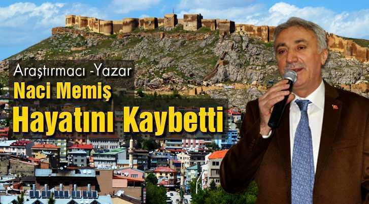 Bayburt'lu Araştırmacı-Yazar Naci Memiş Hayatını Kaybetti