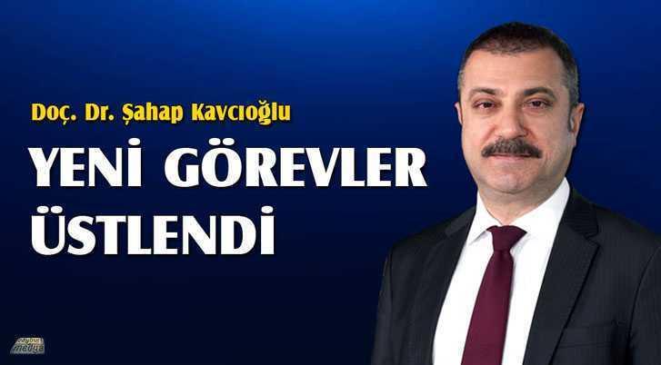 Doç. Dr. Şahap Kavcıoğlu Yeni Görevler Üstlendi