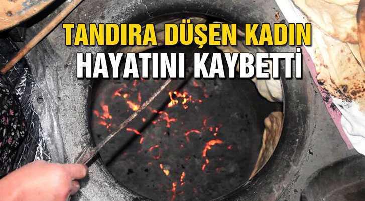 Bayburt'ta Tandıra Düşen Kadın Hayatını Kaybetti