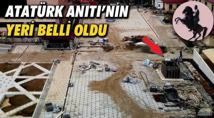Atatürk Anıtı'nın Saray Bahçesindeki Yeri Belli Oldu