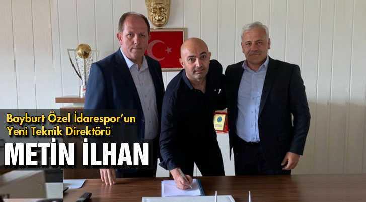 Bayburt Özel İdarespor'un Yeni Teknik Direktörü Metin İlhan