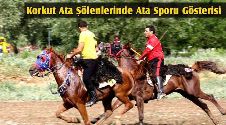 Korkut Ata Şölenlerinde Ata Sporu Gösterisi