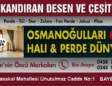 Osmanoğulları Halı ve Perde Dünyasında Öncü Markalar
