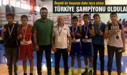 Bayburt Kurban Yazoğlu Boks Spor Kulübü Türkiye Şampiyonu
