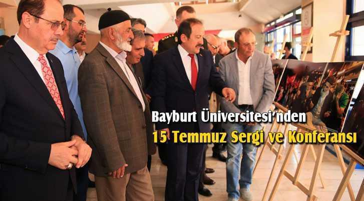 Bayburt Üniversitesi'nden 15 Temmuz Sergi ve Konferansı