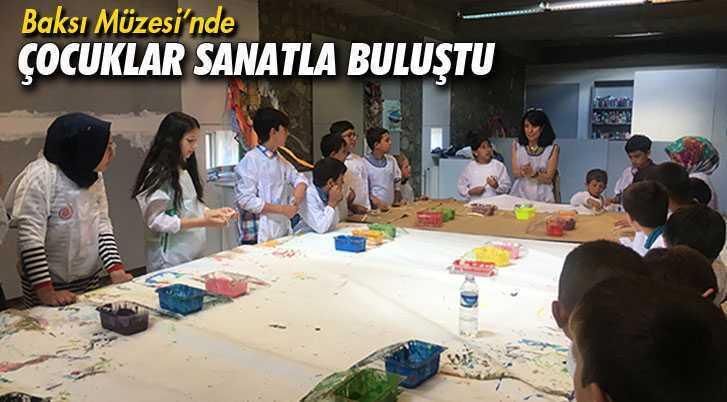 Türkiye Eğitim Gönüllüleri Baksı Müzesi'nde Sanatla Buluştu