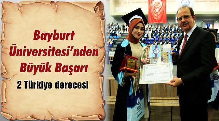 Bayburt Üniversitesi'nden Büyük Başarı