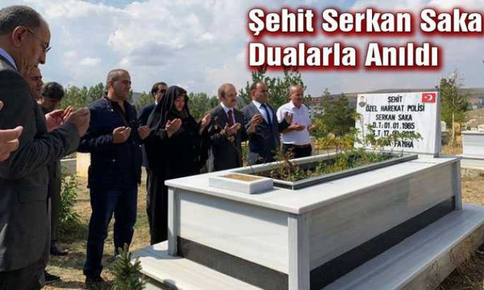 Bayburt'ta Şehit Serkan Saka Dualarla Anıldı