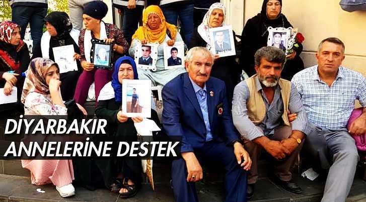 Bayburtlular Federasyonundan Diyarbakır Annelerine Destek