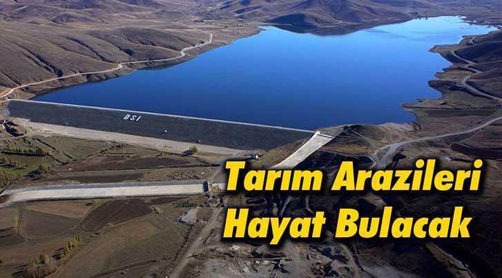 Demirözü Barajı Sayesinde Tarım Arazileri Hayat Bulacak