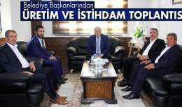 Bayburt'ta Belediye Başkanlarından Üretim ve İstihdam Toplantısı