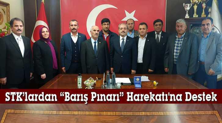 """Bayburt'ta STK'lardan """"Barış Pınarı"""" Harekatı'na Destek"""