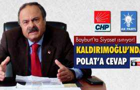 CHP İl Başkanı Kaldırımoğlu'ndan AK Parti İl Başkanı Polat'a Cevap