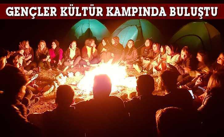 Bayburt'ta Gençler Kültür Kampında Buluştu