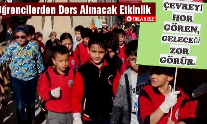 Şehit Recep Eşiyok Okulu Öğrencilerinden Ders Alınacak Etkinlik