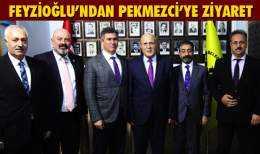 TBB Başkanı Metin Feyzioğlu'ndan Başkan Pekmezci'ye Ziyaret